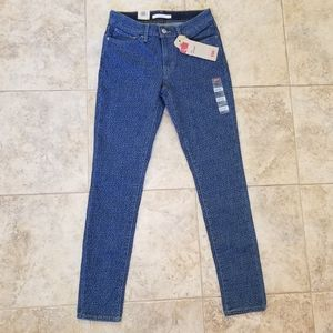 Levi's Jeans - NEW LEVI'S LEOPARD STRETCHY SKINNY BLUE JEANS NWT